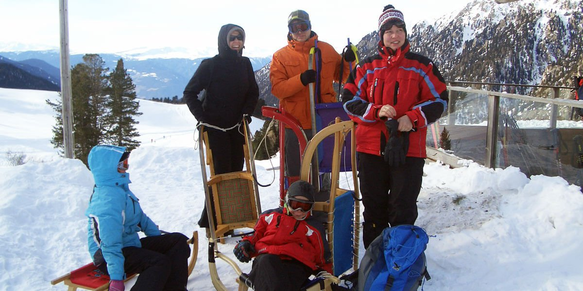 Attività per il tempo libero sulla neve