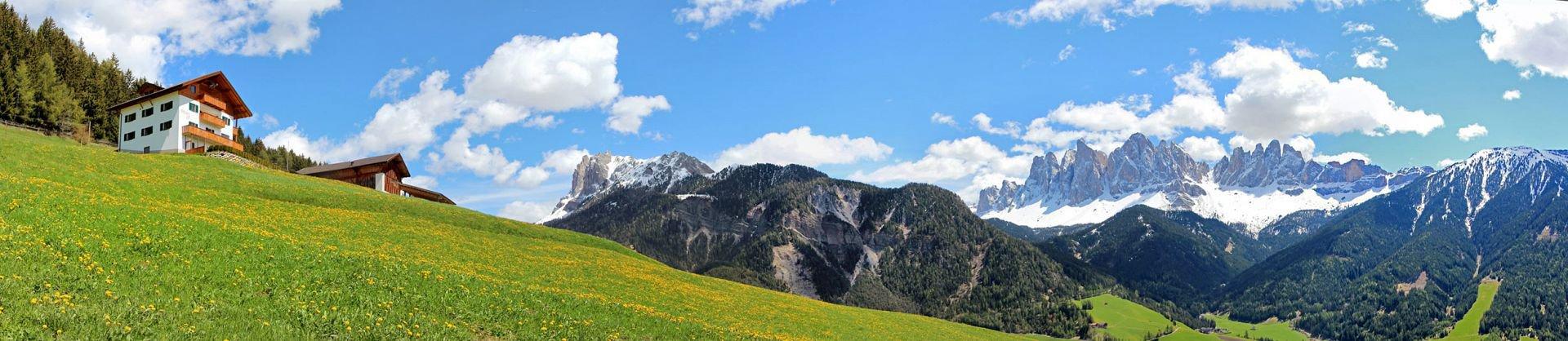 Ländliche Bergidylle in Villnössauf dem Felthunerhof